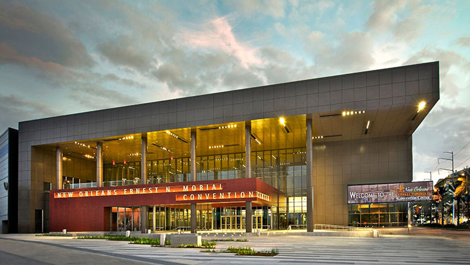 The Ernest N. Morial Convention Center is open for groups, following social-distancing guidelines laid out by the city, state and CDC.