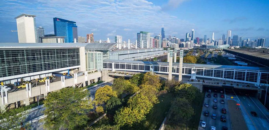 Chicago's McCormick Place is currently closed, but the venue has launched a thorough Safety First protocol, making upgrades to its cleaning procedures, air quality, room layout, operations and design.