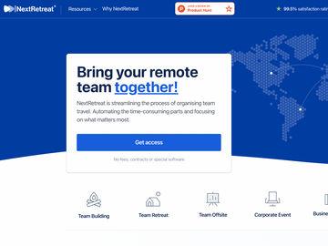STARTUP STAGE: NextRetreat streamlines organizing team travel