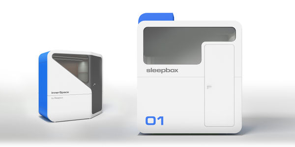 STARTUP STAGE: Sleepbox's micro-hotels house travelers in urban areas