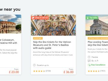Booking.com gets product from TUI's Musement to bolster activities strategy
