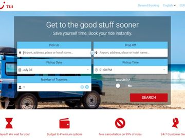 TUI expands digital platform with ground transfers from Mozio