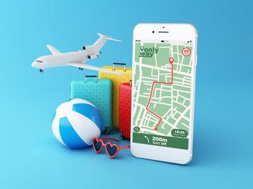 Travel app downloads surpass 2019 numbers, Hopper ranks top booking app