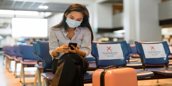 What is the digital outlook for 2021 in business travel?