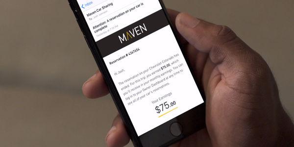 GM expands Maven car sharing