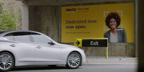 Hertz Clear biometric partnership