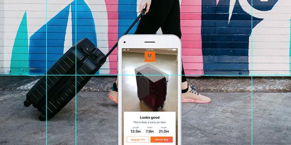 Kayak AR bag measurement Siri Shortcuts