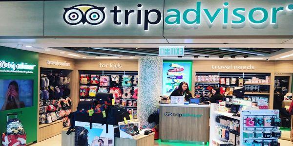 TripAdvisor airport store program grows