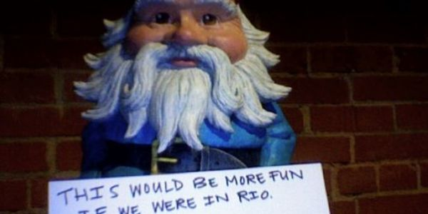 Travelocity trying every conceivable channel as Roaming Gnome hits Chatroulette