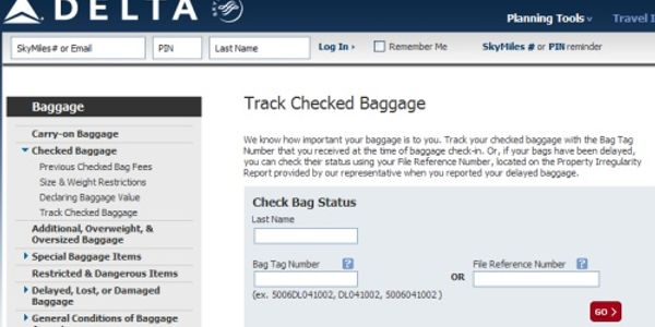 Checked bags redefined: Delta enables travelers to check location of lost bags