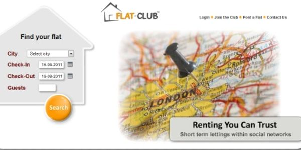 Flat-Club targets trust factor in buzz around short-term lettings