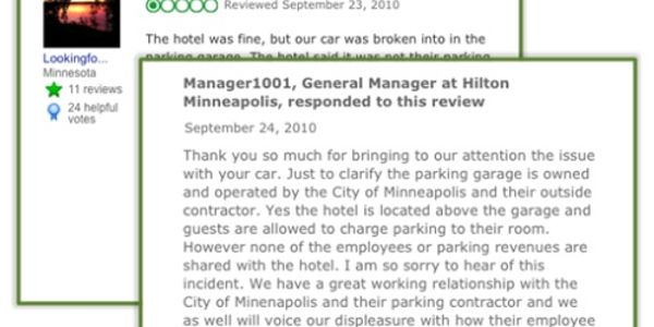 Underscoring the importance of online hotel reputation management