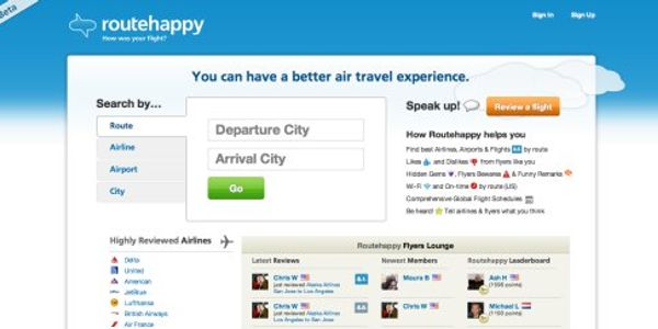 Suddenly, with MondoWindow, RouteHappy and SeatGuru, it is all about the flight