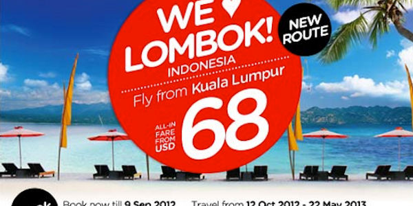 KL-Lombok: AirAsia picks latest route from Twitter