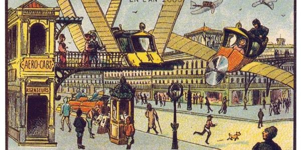 What people in 1899 thought would happen to travel technology [hint: we failed them]