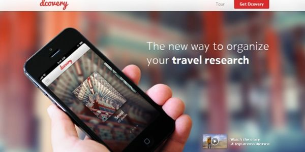 Dcovery wants to be the Evernote for travel by organising destination research