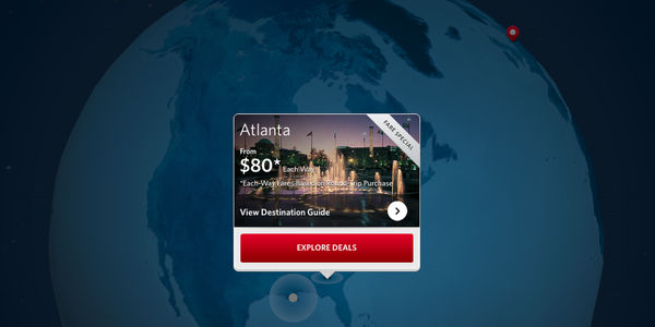 Glass bottom jet! Delta's new iPad app aggregates features for a wholly device-specific experience