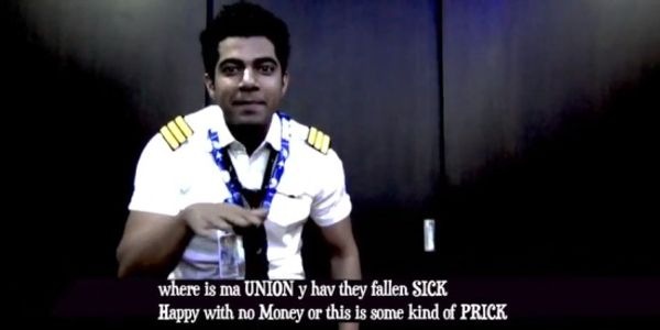 Air India pilot in hot water over YouTube rant [VIDEO]