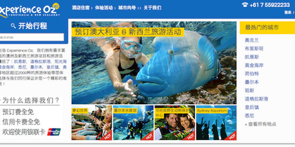 Travel industry is changing the famous made-in-china tagline to made-for-china