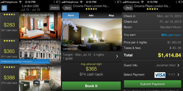 Superfly continues data push with mobile hotel booking, plus cash back