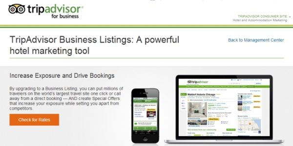 TripAdvisor raising the game for Business Listings with rates, availability and booking service
