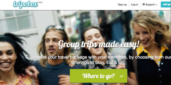 Tripobox aims to smooth out group travel