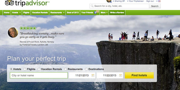 TripAdvisor says no plans to become an OTA, happy to remain booking facilitator