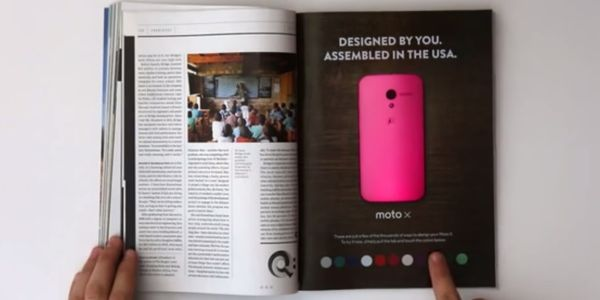 Interactive print could breathe new life into travel agent brochures [VIDEO]