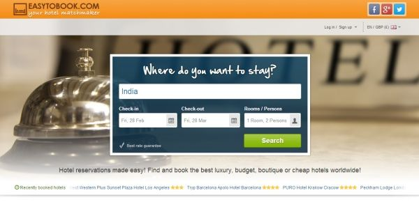 MakeMyTrip buys EasyToBook hotel service for $5 million