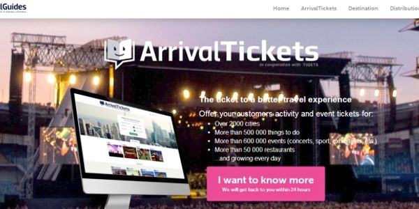 ArrivalGuides partners with Tiqets for tours and activities