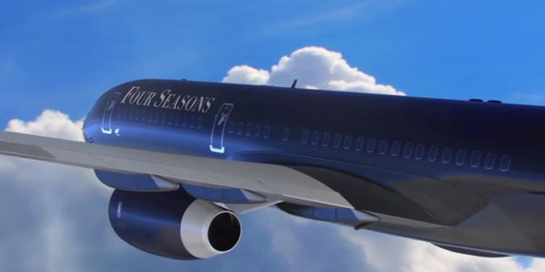 Four Seasons takes off into a new vertical with branded private jet