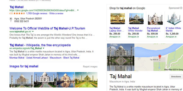 Travel marketers - Google Universal Search shows more images, YouTube retains top spot