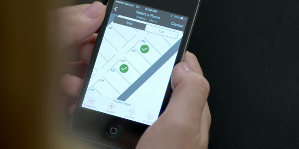 Hilton will let you pick a room and unlock its door with your mobile device