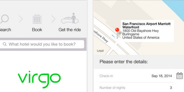 """Startup pitch: Virgo says """"book a hotel, get a free airport ride"""""""