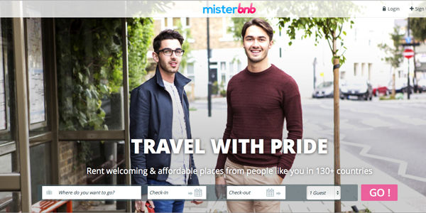 Startup pitch: Misterbnb, an Airbnb alternative for gay travel, raises $2 million