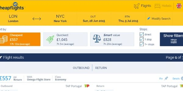 Goodbye, deals - Cheapflights switches to metasearch after 19 years
