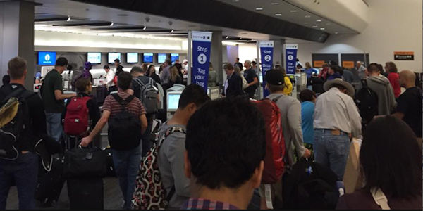 United temporarily grounded all of its US flights in ticketing system snafu
