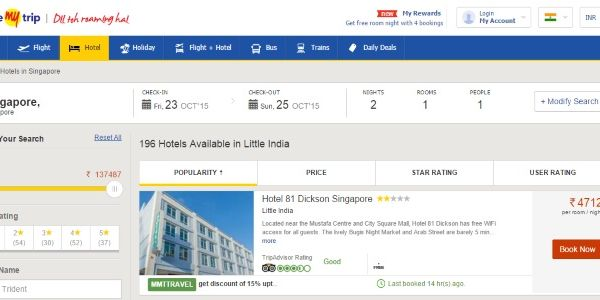 MakeMyTrip sees opportunity in TripAdvisor challenger and Airbnb model
