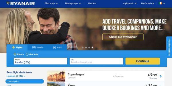 First look - Ryanair teases new website