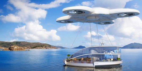 Drone holiday home - a glimpse at how we might travel in the future