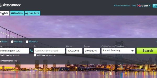 B2B revenues double for Skyscanner