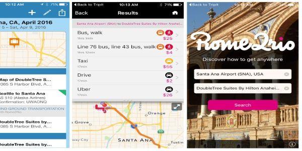 TripIt integrates Rome2Rio for door-to-door corporate travel search