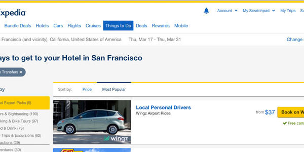 Expedia-backed Wingz, the airport ride service, talks expansion