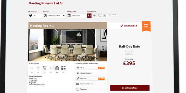 Meetingsbooker revs up white-label booking engine for hotels