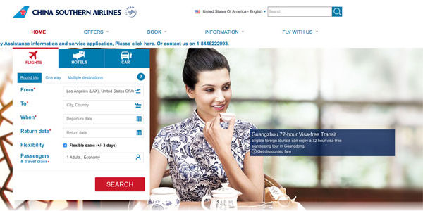 Chinese airlines aim to improve their international websites and apps