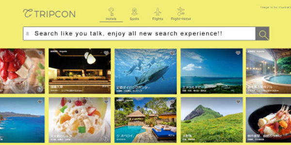 Startup pitch: Tripcon offers natural-language metasearch, Tokyo-style