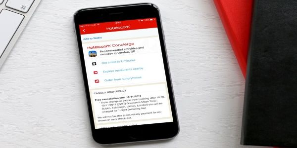 Hotels.com gives travellers a full-service mobile app when in-destination