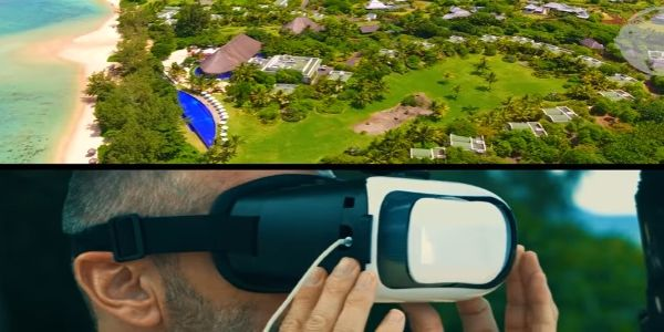 Not just pre-trip - hotel uses drone to showcase resort once guests are in