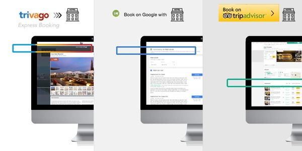Compare and contrast - trivago Express, Book on Google, Instant Booking on TripAdvisor