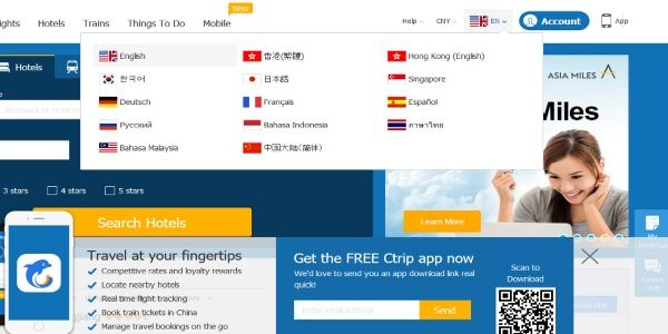Ctrip heralds early success of Skyscanner's direct booking option